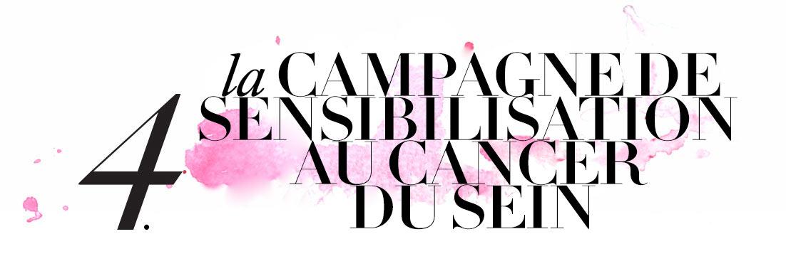 4. Sensibilisation au cancer du sein